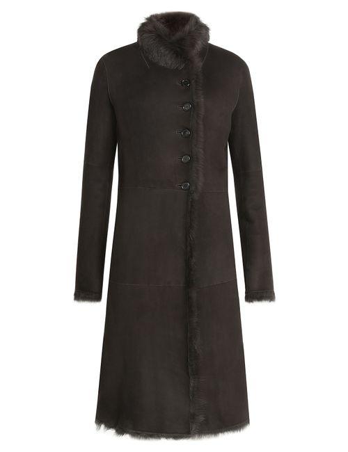 Joseph | Коричневый Shearling Coat Gr. Fr 38