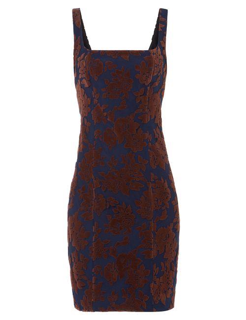 Mary Katrantzou | Женское Цветочный Dress With Velvet Gr. Uk 8