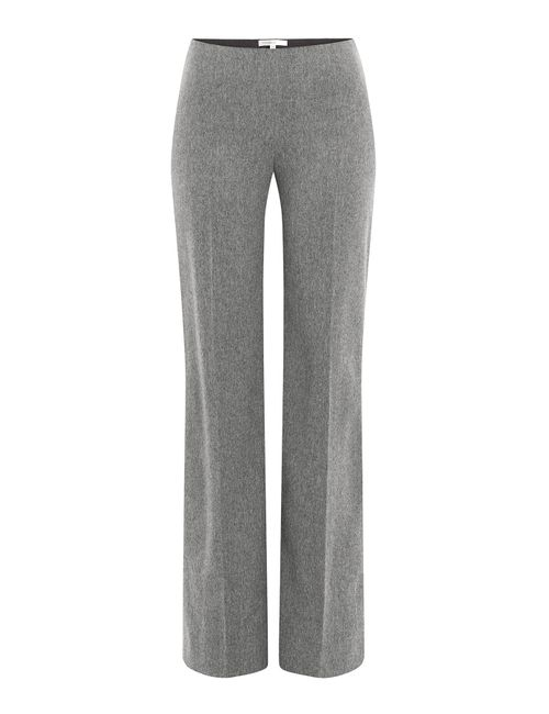 Paule Ka | Женское Серый Virgin Wool Wide Leg Pants Gr. 38