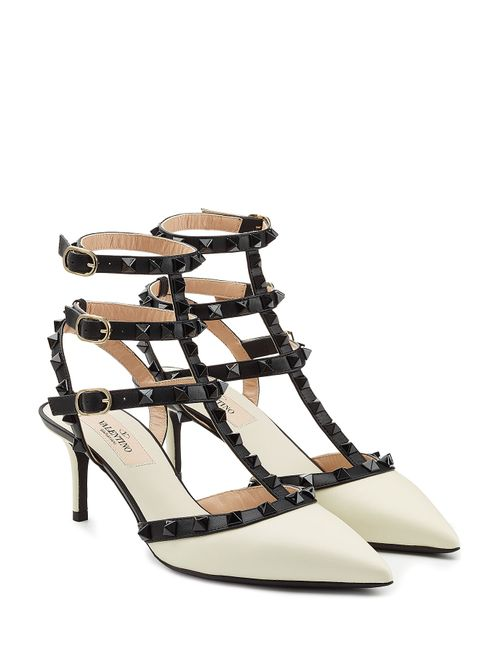 Valentino | Женское Многоцветный Rockstud Leather Kitten Heel Pumps Gr. 40