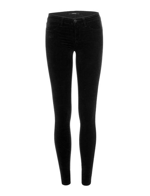 J Brand Jeans | Женское Чёрный Skinny Velvet Pants Gr. 30