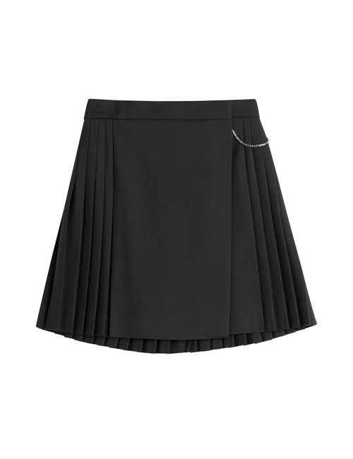 The Kooples | Женское Синий Wool Skirt With Pleats Gr. 34