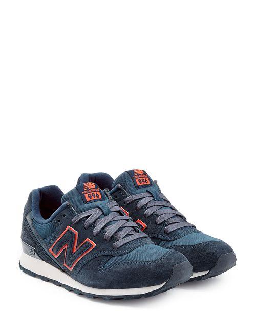 New Balance | Женское Синий Suede Sneakers Gr. 55