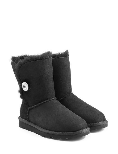 UGG Australia | Женское Чёрный Bailey Bling Boots With Swarovski Crystal Gr.