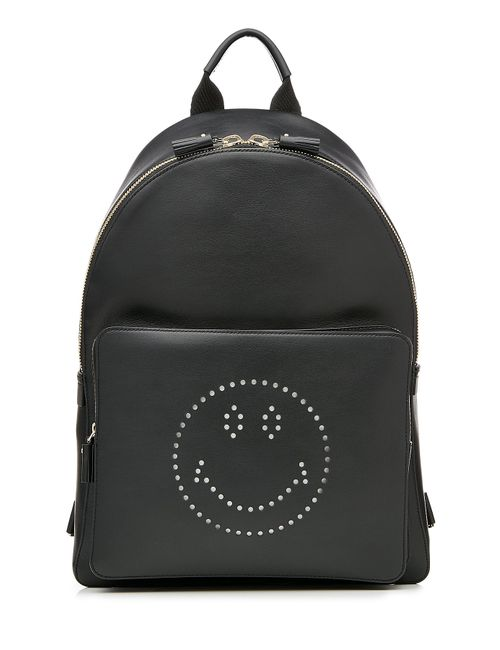 Anya Hindmarch | Женское Чёрный Smiley Leather Backpack Gr. One Size