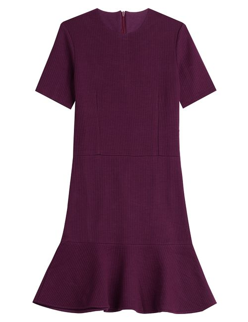 Carven | Женское Красный Dress With Ruffled Hem Gr. M