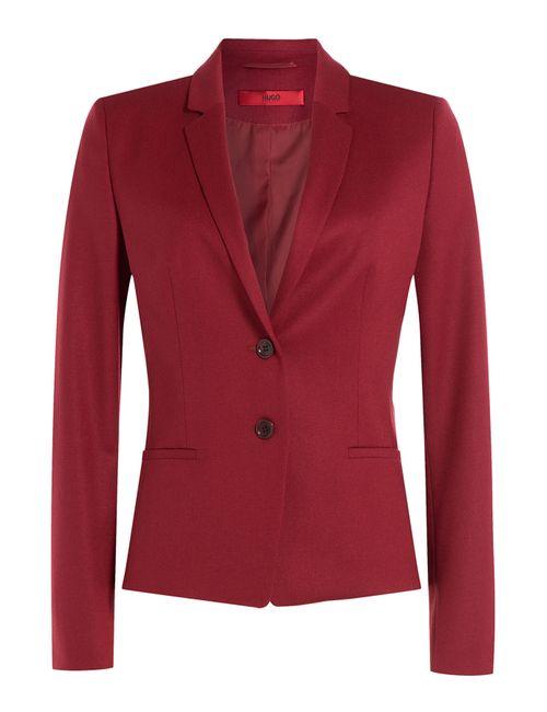 Hugo | Женское Красный Wool Blazer Gr. De 34