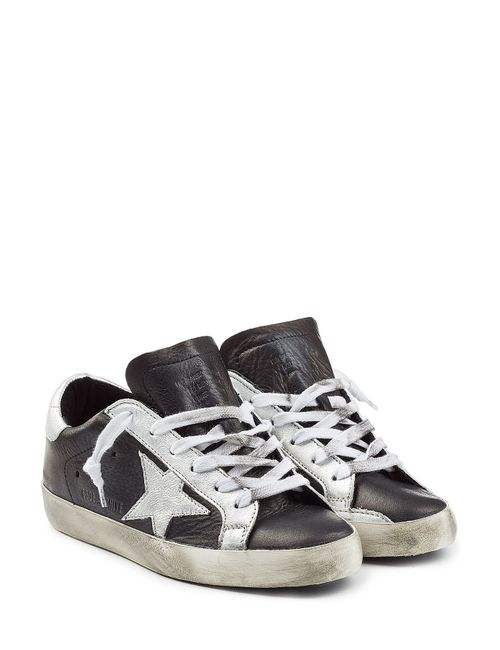 Golden Goose | Женское Чёрный Super Star Leather Sneakers Gr. 35