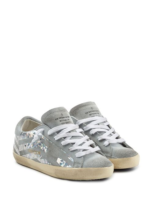 Golden Goose | Женское Серый Super Star Suede Sneakers Gr. 35