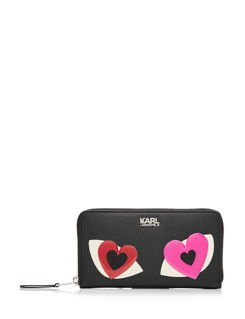 Karl Lagerfeld | Женское Чёрный Zip Around Wallet Gr. One Size