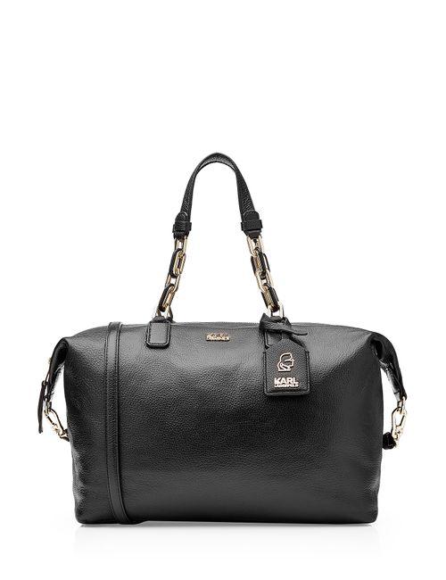 Karl Lagerfeld | Женское Чёрный Leather Tote Gr. One Size