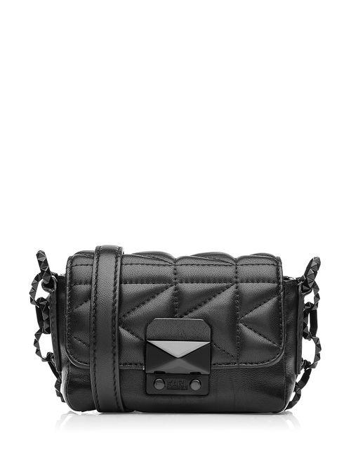 Karl Lagerfeld   Женское Чёрный Quilted Leather Shoulder Bag Gr. One Size