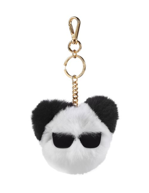 Karl Lagerfeld | Белый Rabbit Fur Keychain Gr. One Size
