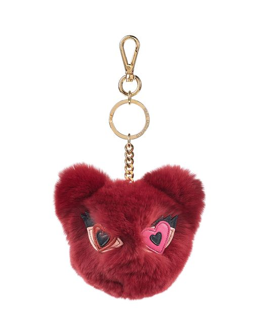 Karl Lagerfeld | Красный Rabbit Fur Keychain Gr. One Size