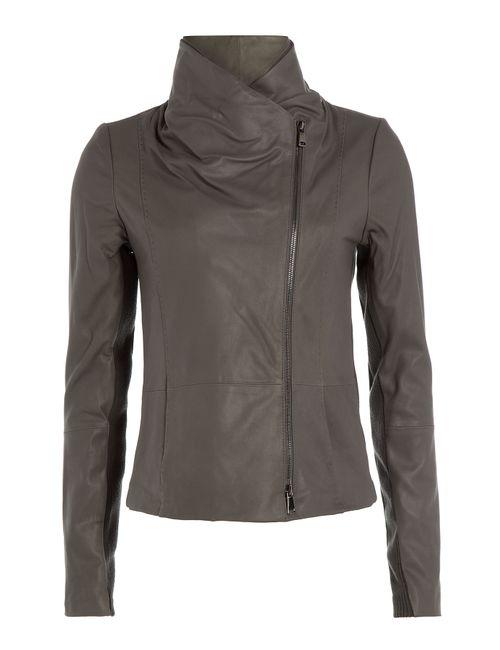 Vince | Женское Зелёный Leather Jacket Gr. Xs