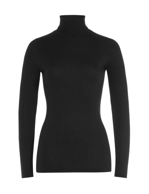 Vince | Женское Чёрный Ribbed Turtleneck Gr. Xs