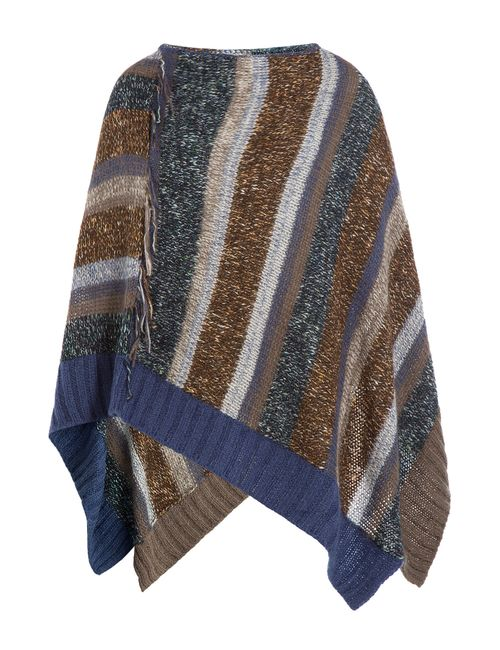 Zadig & Voltaire | Женское Многоцветный Knitted Cape With Mohair Gr. One Size