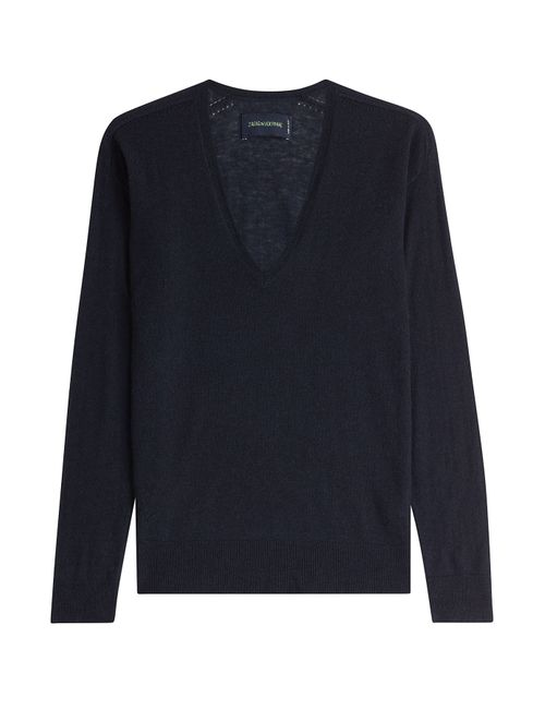 Zadig & Voltaire | Женское Синий Cashmere Pullover Gr. S