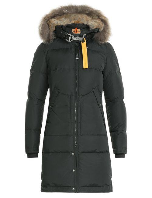 Parajumpers | Женское Серый Down Parka With Fur-Trimmed Hood Gr. L