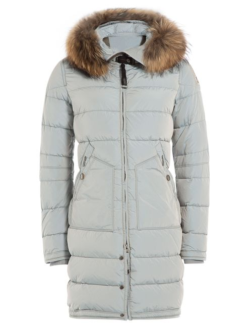 Parajumpers | Женское Серый Down Parka With Detachable Fur-Trimmed Hood Gr.