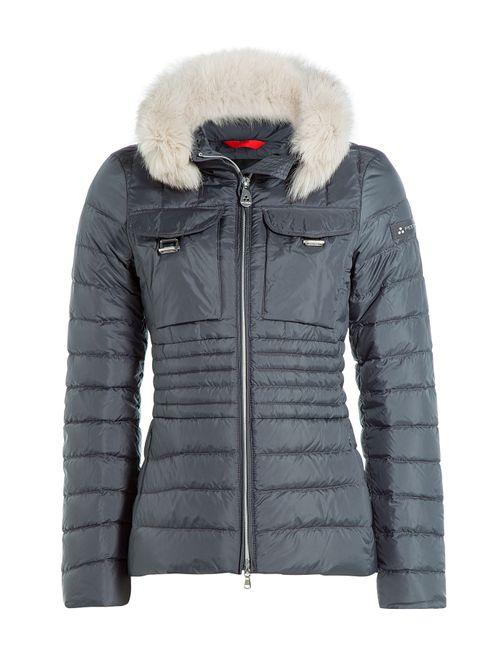 Peuterey | Женское Серый Banail Mrq Down Jacket With Fox Fur
