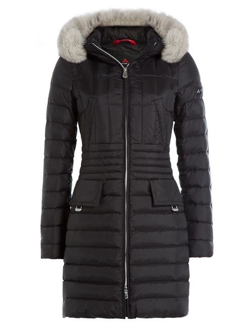 Peuterey | Женское Чёрный Dara Mrq Down Coat With Fox Fur