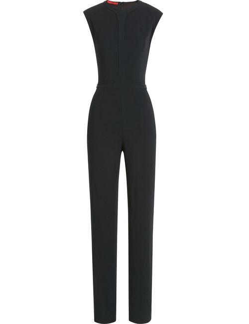 TAMARA MELLON | Женское Чёрный Crepe Jumpsuit Gr. 2