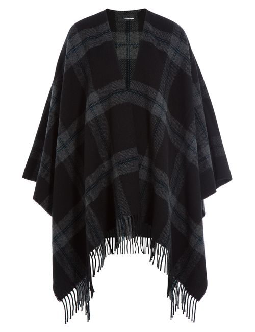 The Kooples | Женское Серый Checked Wool Cape Gr. One Size