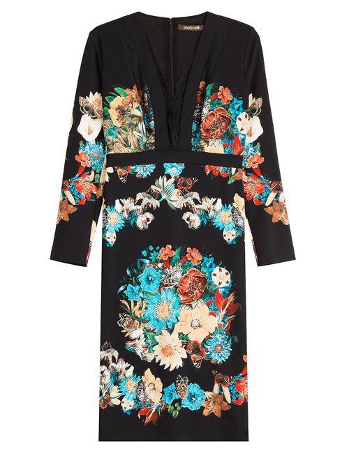 Roberto Cavalli | Женское Цветочный Printed Dress Gr. 40