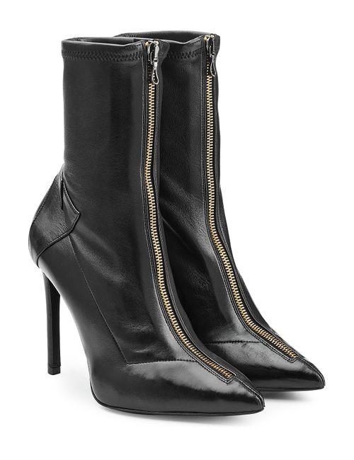 Roland Mouret | Женское Черный Leather Ankle Boots Gr. 36
