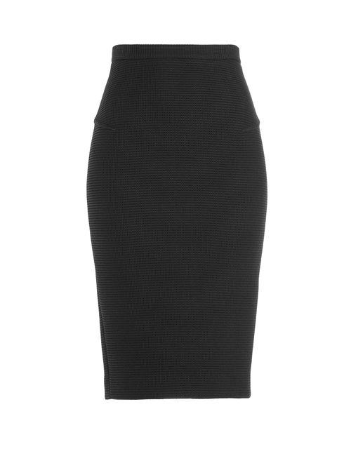 Roland Mouret | Женское Чёрный Pencil Skirt With Wool Gr. 8