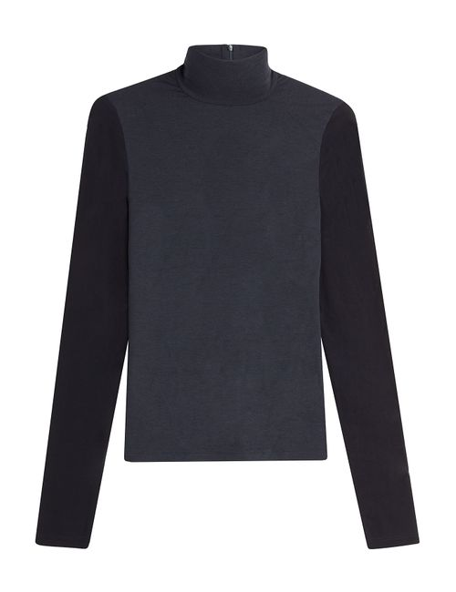 Donna Karan New York | Женское Синий Turtleneck With Wool Gr. Xs
