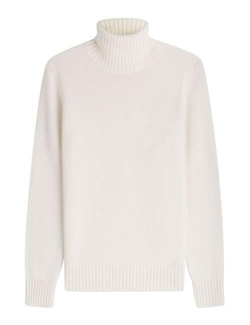 Michael Kors Collection | Женское Белый Cashmere Turtleneck Pullover Gr. L