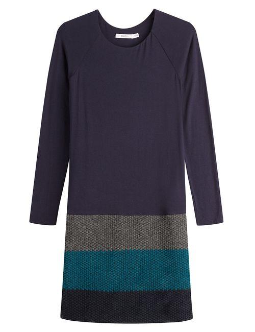 Bailey 44 | Женское Многоцветный Colorblock Mixed Media Sweater Dress Gr. L