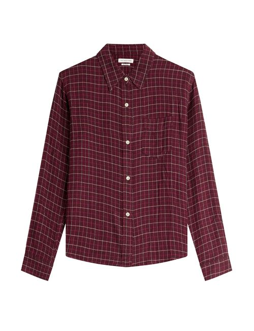 Isabel Marant Étoile   Женское Красный Printed Shirt With Wool Gr. 36