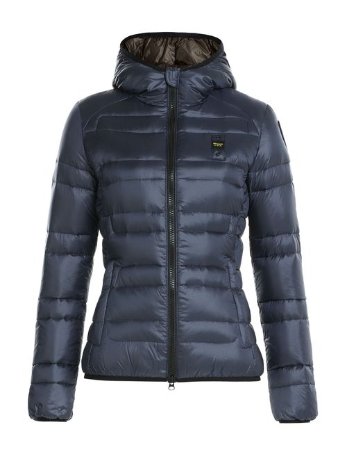 Blauer | Женское Синий Quilted Down Jacket With Hood Gr. S