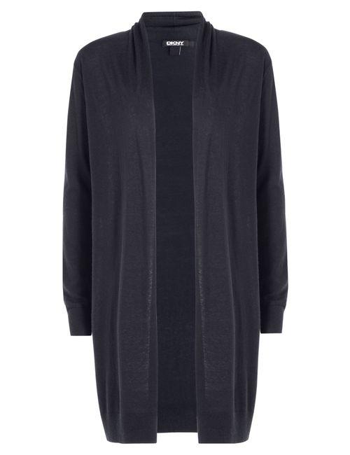 DKNY | Женское Синий Silk-Cashmere Cardigan Gr. M/L