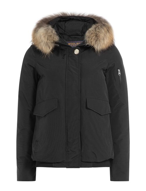 Woolrich | Женское Чёрный Campton Down Jacket With Fur-Trimmed Hood Gr.