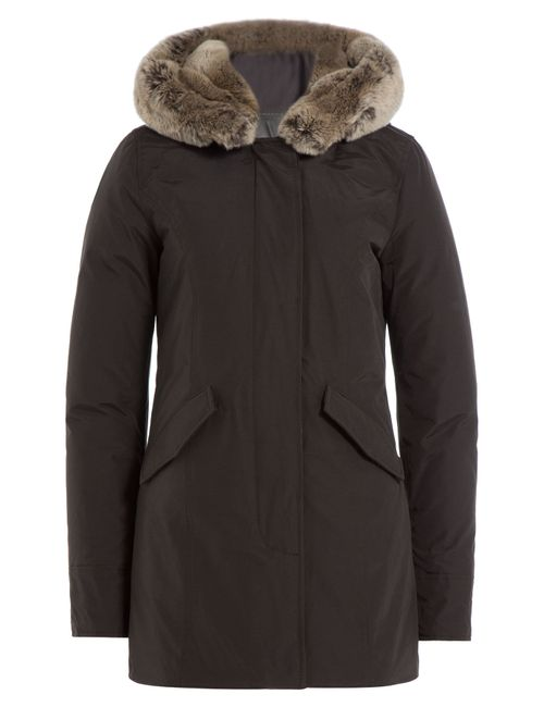 Woolrich | Женское Коричневый Beaker Parka With Fur-Trimmed Collar Gr. Xl