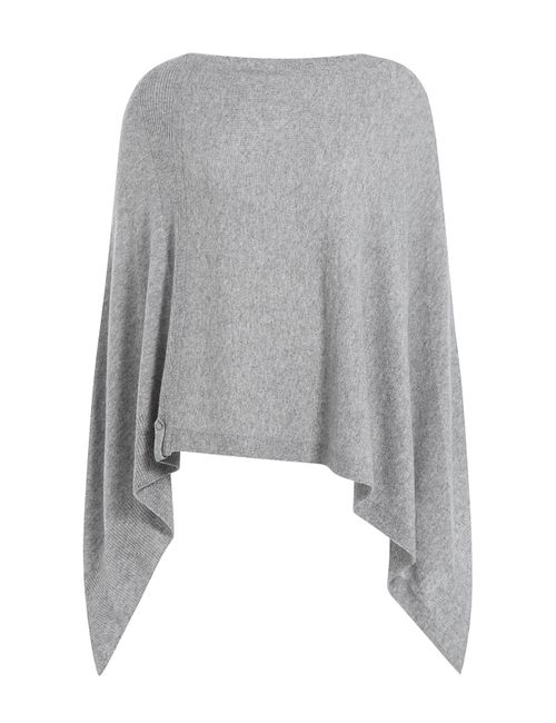 81 Hours by Dear Cashmere | Женское Серый Cashmere Cape Gr. One Size