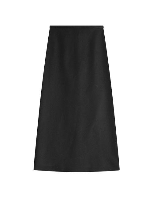 Rochas | Женское Черный Wool Midi Skirt Gr. It 40