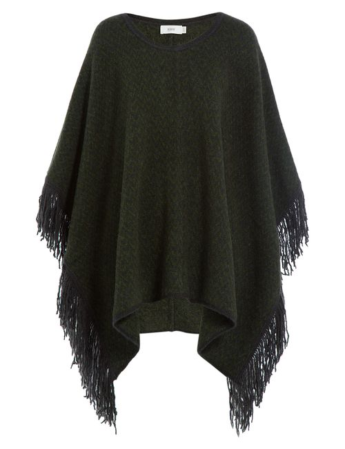 Closed | Женское Зелёный Knit Cape With Alpaca Gr. S/M