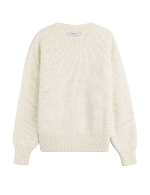 Closed | Женское Белый Knit Pullover With Alpaca Gr. Xs