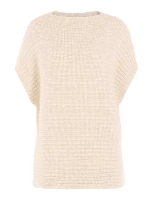 Closed | Женское Бежевый Pullover With Cotton And Alpaca Gr. S
