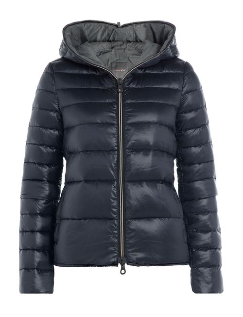 Duvetica   Женское Синий Down Jacket With Hood Gr. It 40