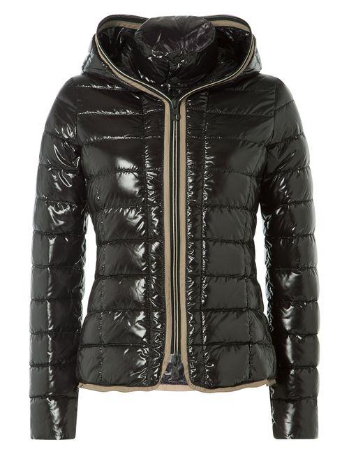 Duvetica   Женское Чёрный Down Jacket With Hood Gr. 38