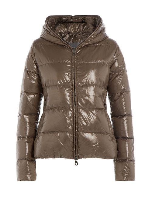 Duvetica   Женское Зелёный Down Jacket With Hood Gr. It 38