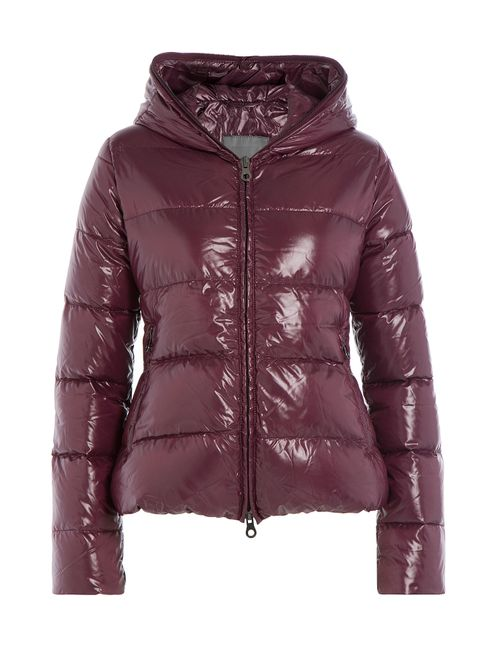 Duvetica   Женское Фиолетовый Down Jacket With Hood Gr. It 38