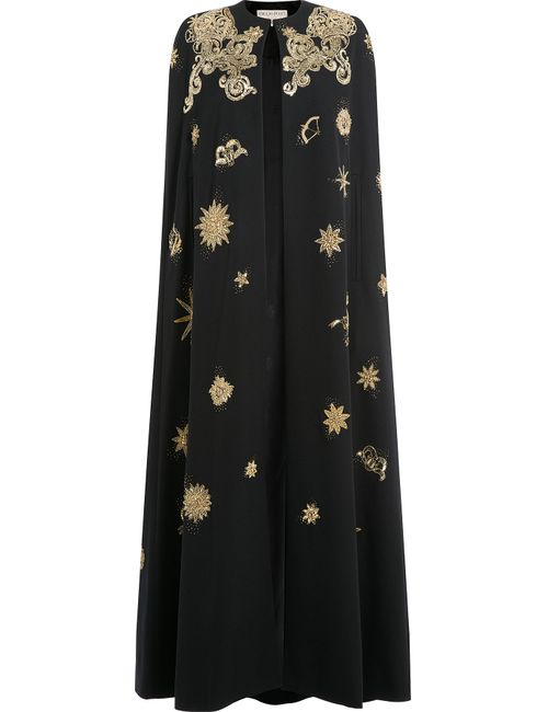 Emilio Pucci | Женское Чёрный Sequin Embellished Evening Cape Gr. 40