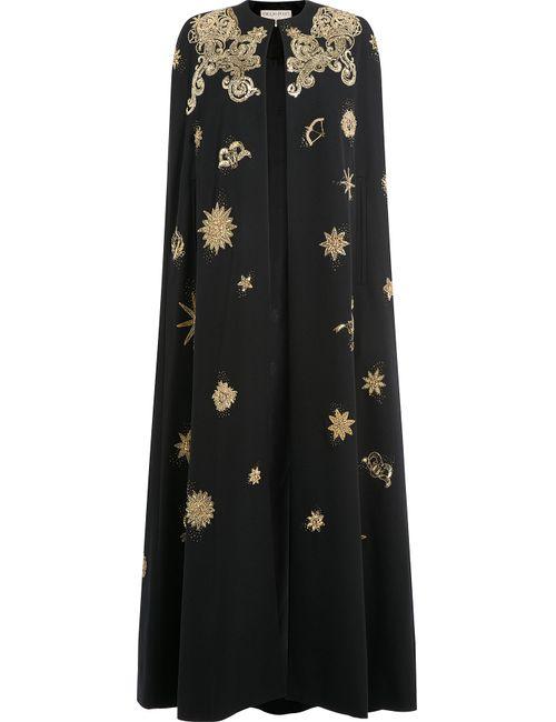 Emilio Pucci | Женское Чёрный Sequin Embellished Evening Cape Gr. 40